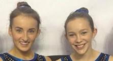 CETC Gymnasts Caitlin O'Brien & Ciara Donlevy